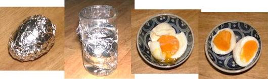 ゆで卵のつくりかた